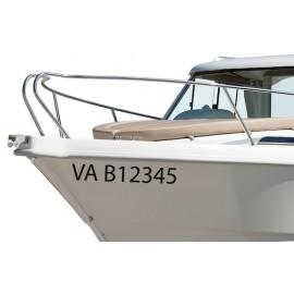 Immatriculation bateau maritime