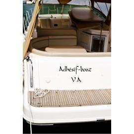 Nom de bateau avec quartier maritime
