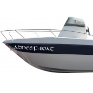 Nom de bateau à la proue
