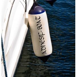 Nom de bateau sur pare-battage