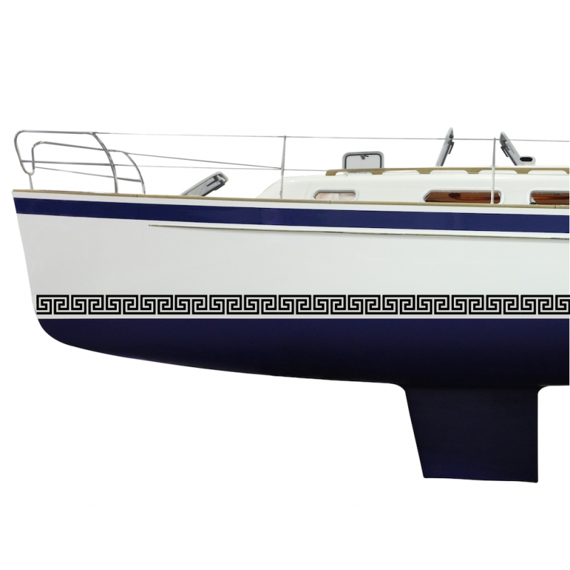 Frise Grecque 2 - Adhesif Boat