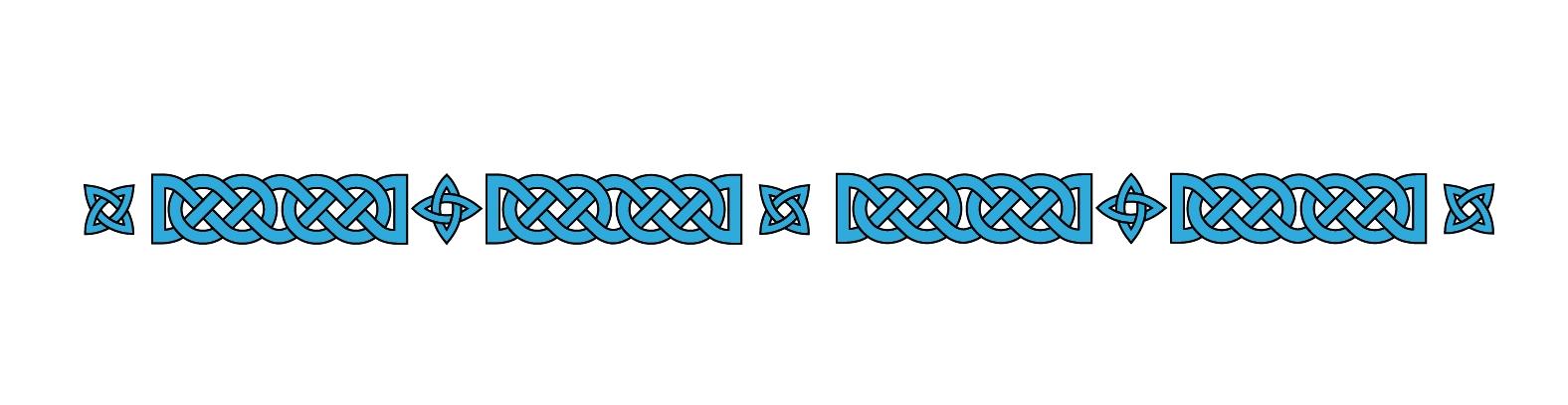 frise celtique 3 adhesif boat