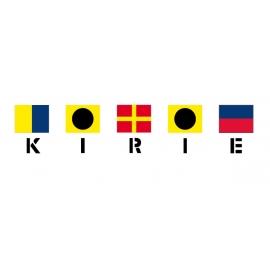 Feeling Kirié avec drapeaux