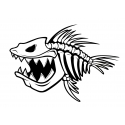Skeleton fish 2