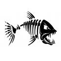 Skeleton fish 3