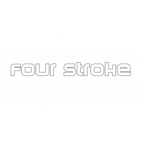 Four stroke Yamaha