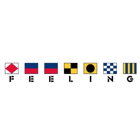 Feeling avec drapeaux